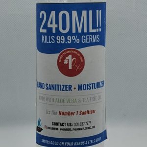 Hand Sanitizer #1 Pharmacy Brand